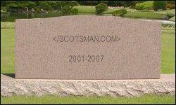 Scotsman.com Grave